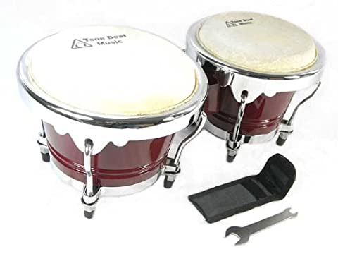 "Professional Bongo drums (6.5"" & 7.5""or 7"" & 9"" in"