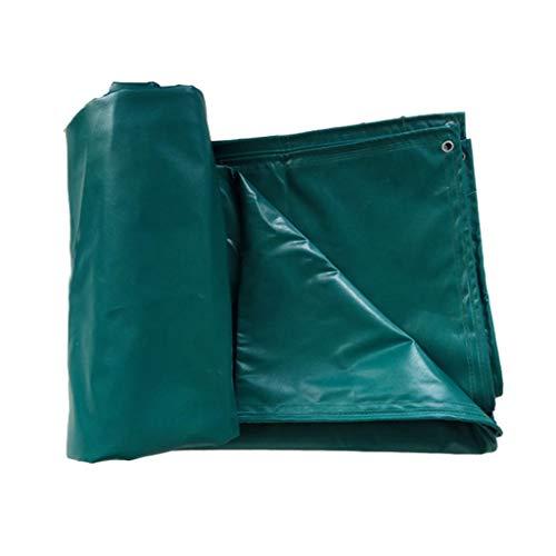 DUOER HOME-Abdeckplanen Outdoor Regenschutz Sonnenschutz Verdickung PVC Tarps Plane Anti-Aging Tarps Zelt Klapp-LKW Auto Tarps Plane Grün (Color : Green, Größe : 3 * 3M) - Schwarz Klapp-gartenmöbel