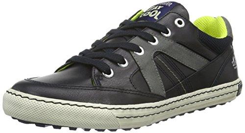 s.Oliver Jungen 43102 Sneakers, Blau (Navy Comb. 891), 39 EU