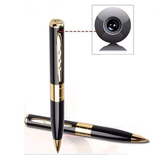 Mengshen® Mini Pen HD 720x480p nascosta video Camcorder registratore Cam, Executive Style Penna a sfera, lavora facilmente per PC / Mac MS-HC01