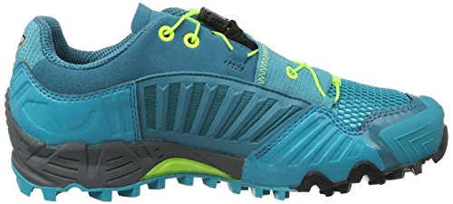 Dynafit Ws Feline Gtx, Chaussures de Trail femme Bleu (Boreal/fluo Yellow)