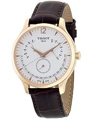 Tissot Herren-Armbanduhr Analog Quarz Leder T063.637.36.037.00