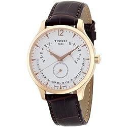 Tissot Men's Quartz Watch T063.637.36.037.00 with Leather Strap