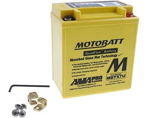 Batterie MOTOBATT für Honda SH 125 JF09 2001-2004 [inkl. 7.50 Euro Batteriepfand]