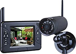 Smartwares Funk Kamerasystem mit Aufzeichnungsfunktion, CS83DVR