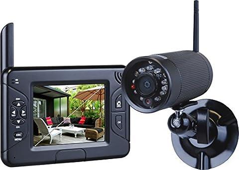 Smartwares Funk Kamerasystem mit Aufzeichnungsfunktion,