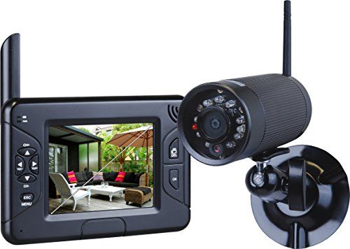 Smartwares CS83DVR Funk Kamerasystem mit Aufzeichnungsfunktion