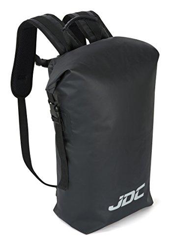 Imagen de jdc  para moto 100% impermeable bolsa resistente al agua 30l negra