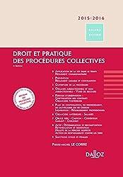 Droit et pratique des procédures collectives 2015/2016