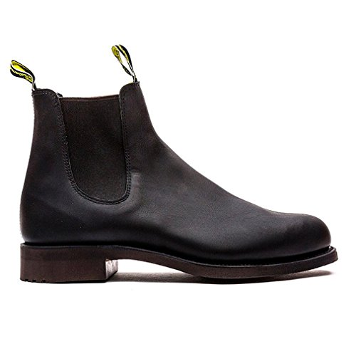 R.M. Williams  581 Gardener G Black, bottes chelsea mixte adulte Black