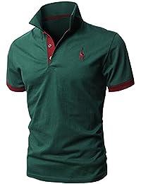 Glestore Herren Poloshirt Kurzarm Baumwolle M-XXL MT1030