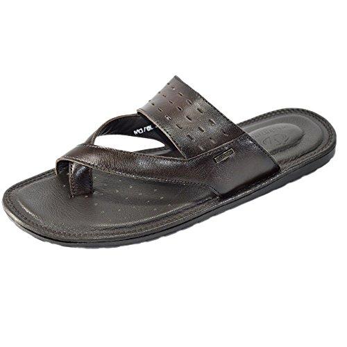 Valentino-Genuine-Leather-JOY03BRN-Mens-Flip-FLop