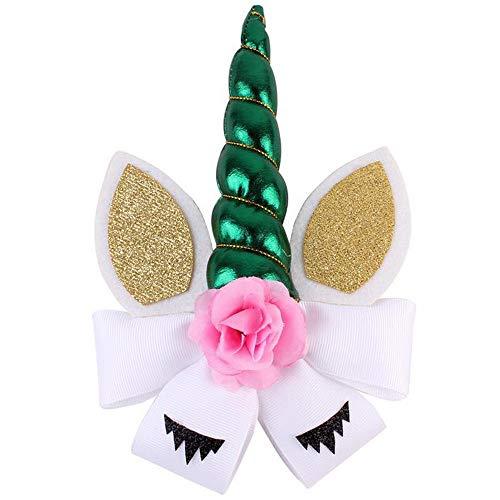 GNYD Damen Elegante Mode Kinder Party Kopfbedeckungen Haarnadel Blume Haarband Wimpern Cosplay Kopfschmuck -
