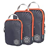 TRIPPED Travel Gear Compression Packing Cubes Set For Carryon Travel-Lightweight Durable Luggage Organizer