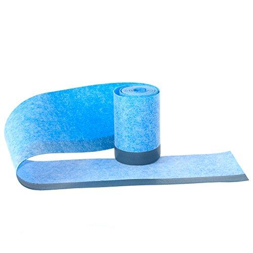 duschwannen dichtband Wannendichtband Fugenband mit einem 2cm selbstklebenden Streifen Länge: 3m