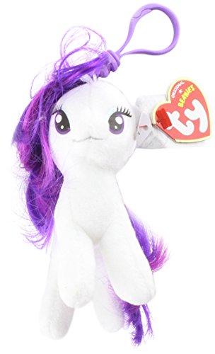My Little Pony Rarity Clip (Ty Beanie Boos)