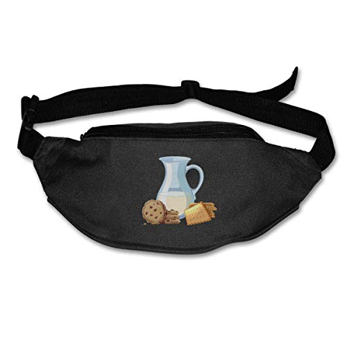 Waist Bag Fanny Pack Milk and Cookie Pouch Running Belt Travel Pocket Outdoor Sports - Wanderer Cookies
