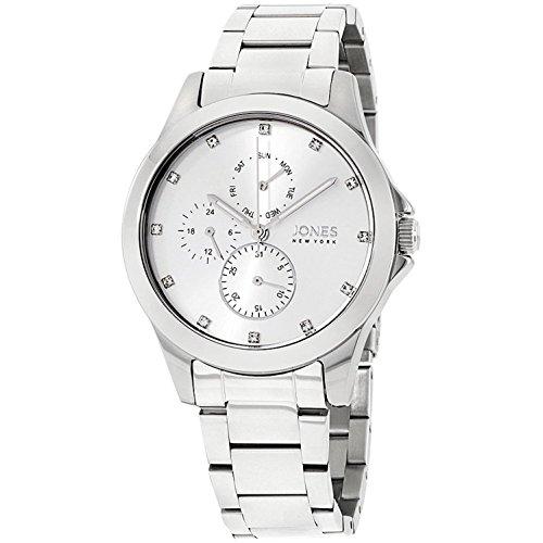 Jones New York Damen-Armbanduhr 38mm Armband Edelstahl Quarz 11692S528-004