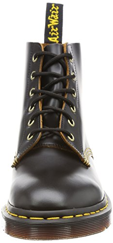 Dr.Martens Mens 101 Arc 6 Eyelet Leather Boots Noir