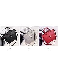 X&L Bolso de las mujeres de moda bolsa bolso hombro diagonal , gray