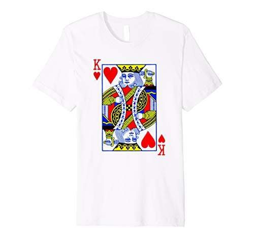 King of Hearts T-Shirt Halloween Kostüm Idee 2017