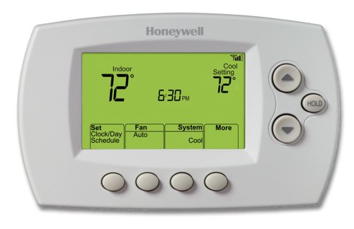 Honeywell RET97E5D1005/U Wi-Fi Programmable Thermostat-0