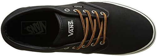 Vans  Atwood, Sneakers Basses homme Noir (Leather)