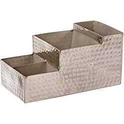 Metalcraft americano hmbar9 Bar Caddy, plata