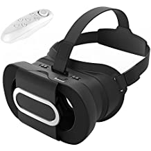 3D VR Headset Virtual Reality Universalle Brille Box für Handy Virtuelle Realität für iPhone 6S 6Plus 5S, HTC One M, LG, Sony, Alle 4.7-6.0 Zoll Handys für 3D-Filme Video kompatibel mit iOS Andriod