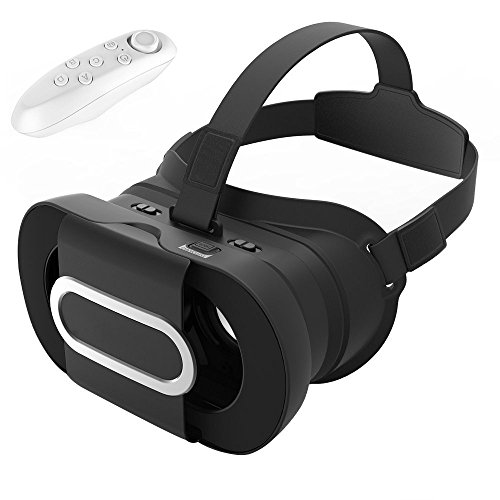 3D VR Headset Virtual Reality Universalle Brille Box für Handy Virtuelle Realität für iPhone 6S 6Plus 5S, HTC One M, LG, Sony, Alle 4.7-6.0 Zoll Handys für 3D-Filme Video kompatibel mit iOS Andriod