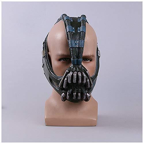 YaPin Batman Dark Knight Rise Cos Bain Maske Helm Batman Halloween Maske Prop Bane