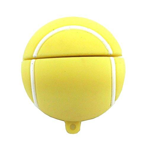 Aneew USB-Stick mit 16GB, Sport-Optik Tennis Ball 16 - Tennisbälle Sport