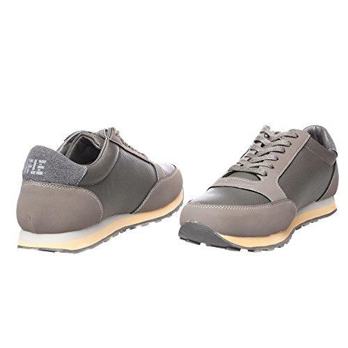 RIFLE Sneakers da uomo, scarpa bassa stringata - Mod. 162-M-318-446 Grigio
