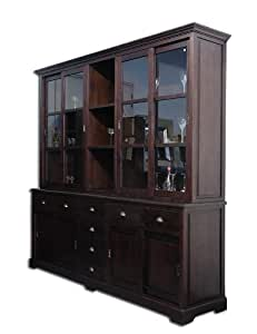buffet wohnzimmerschrank schrank buffetschrank teak teakholz massiv kolonial k che. Black Bedroom Furniture Sets. Home Design Ideas