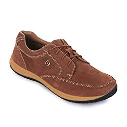 Liberty Healers by Mens Casual Tan Lacing Shoes (GLP-1-TAN-NUBUCK_9/43)