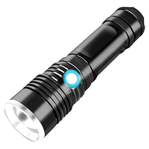 Lampe De Poche Multifonction Zoom Sur Le Camping En Plein Air Zoom USB