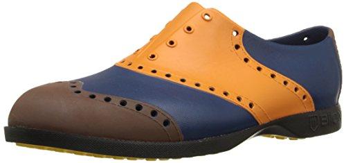 Wingtips/Orange, Brown & Navy 40