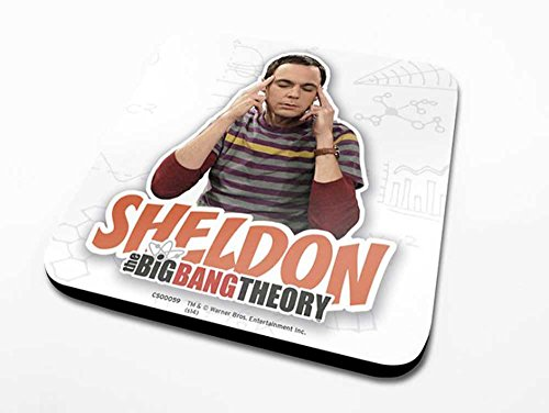 empireposter Big Bang Theory, The - Sheldon - Dessous-de-Verre - Dimension 10 x 10 cm