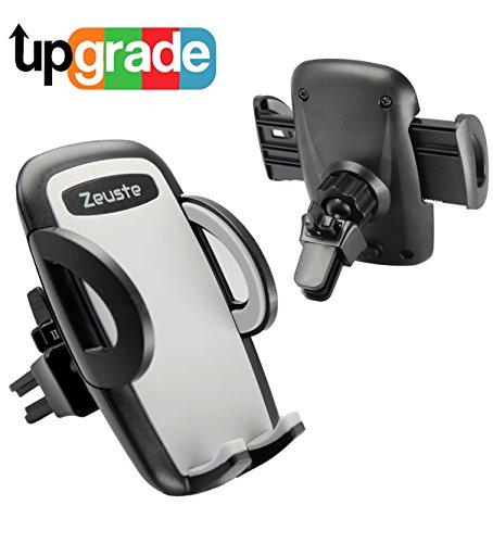 Auto Handyhalterung Zeuste Lüftungsschlitze Universal KFZ Für Samsung Iphone Htc Smartphone(GRAU)