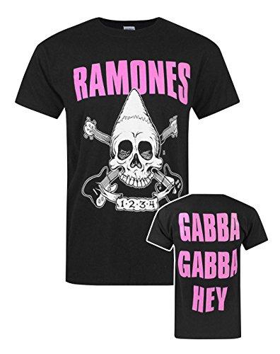 Hombres - Official - Ramones - Camiseta (M)