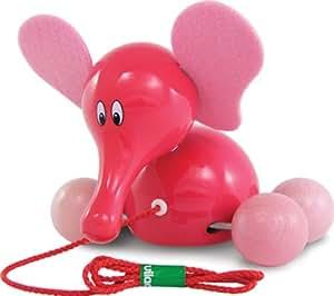 Vilac Elephant Pullalong (Pink)