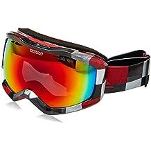 Quiksilver Fenom Art Serie Gafas de Snowboard, Hombre, Blanco (Check Atomic),