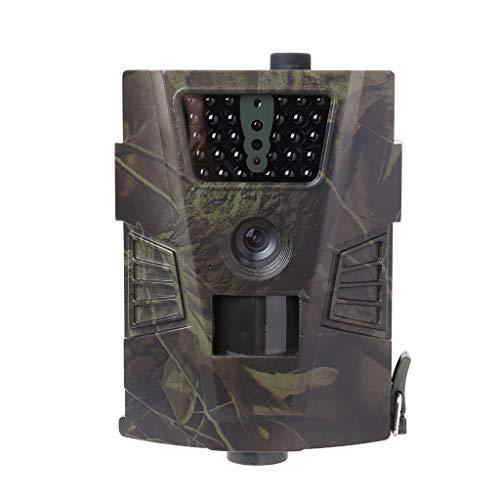Ranuw HC001 Jagdkamera für den Außenbereich, 1080P, HD 12 MP, Wildtier-Trail IP54, Wildkamera, Tier-Video, Nachtsicht, IR, Vollautomatischer Filter, Fernbedienung