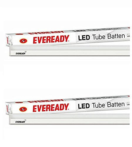 Eveready 18-Watt LED Batten (Pack of 2, Cool Day Light)