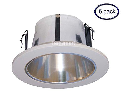 6Stück --- 10,2cm offen Reflektor Trim/Zierteile für Line Spannung Einbauleuchte/lighting-fit Halo/Juno -