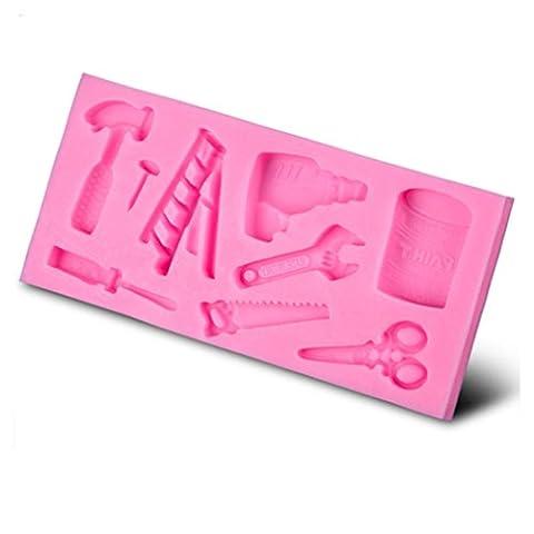 VBAI Hardware-Werkzeuge Form-Backformen Form Kuchenformen Fondant Kuchen Zuckerglasur Sugarcraft Dekorieren Formwerkzeuge #44