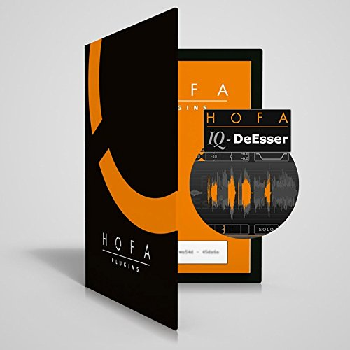 Preisvergleich Produktbild HOFA IQ-Series DeEsser / Das neue Tool zur Bearbeitung störender Zischlaute bei Vocals oder im gesamten Mix