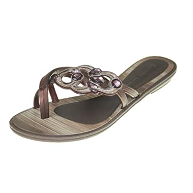 GRENDHA - Chaussures Femmes - IS MAGIA THONG FEM - 81270 - beige bronze, Taille:41/42