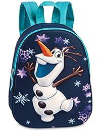 Preisvergleich für Kinder Rucksack - Disney - Die Eiskönigin – Völlig unverfroren - Olaf - Olaf in 3 D - Kinderrucksack - mit Hauptfach
