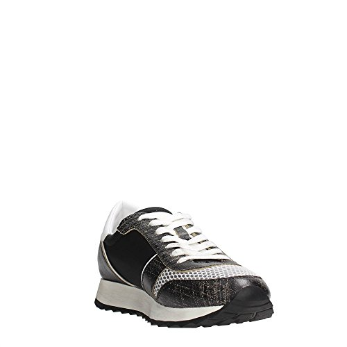 Trussardi Jeans 79S045 Sneakers Donna Pelle Nero